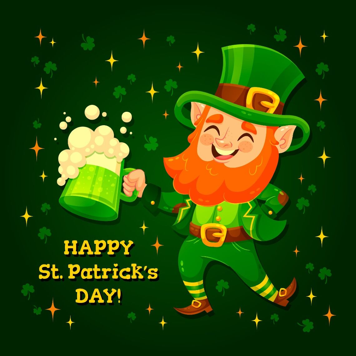 This St. Patrick's Day, EAT GREEN and save green🍀 Image