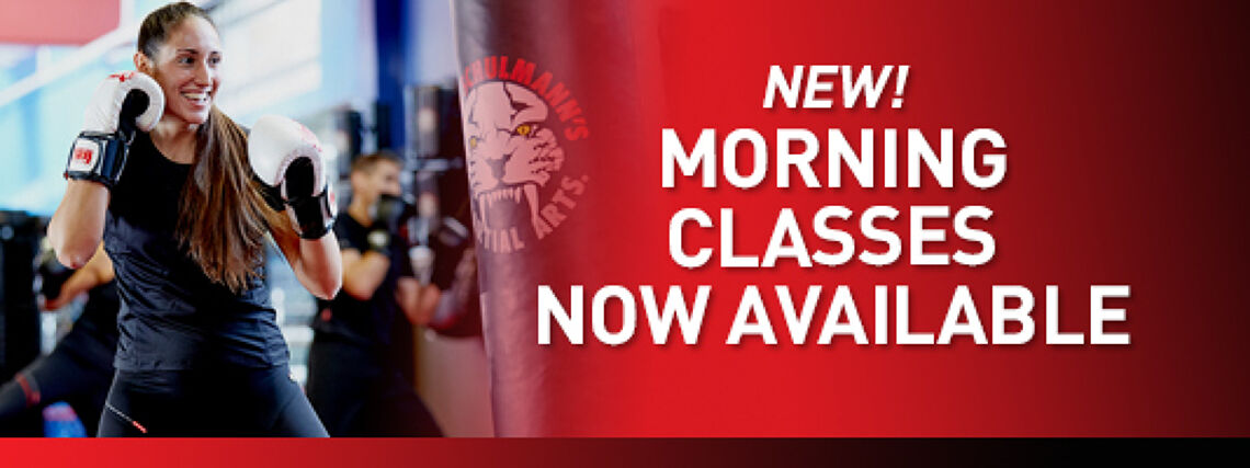 New Morning Classes Now Available ☀️ Image